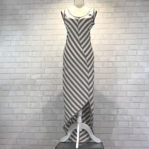 4920b41f3a Athleta Dresses | Nwot Cross Shore Striped Maxi Dress | Poshmark
